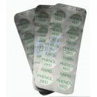 Testavimo tabletės Phenol Red (ph) nustatyti